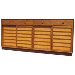 Walnut & Japanese Fir Sideboard by Edward Wormley for Dunbar