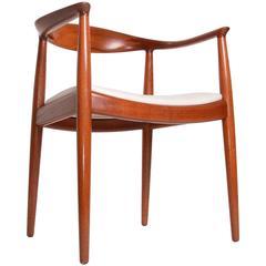 Set of 7 Hans Wegner JH-503 Chairs in Teak