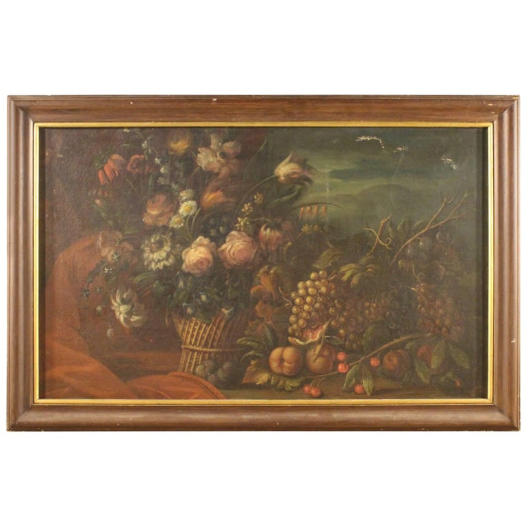 19th Century French Still Life Painting For Sale