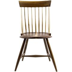 Shimna Berkshire Side Chair in Walnut with Maple Details