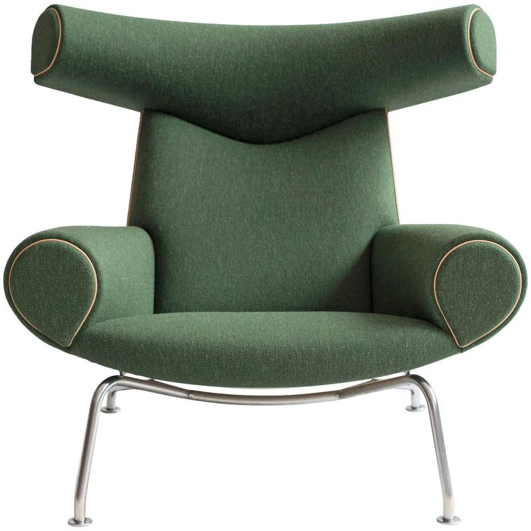 Hans J Wegner Ox Chair For Ap Stolen At 1stdibs