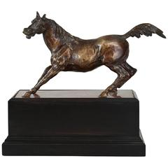 A French Bronze Sculpture of a Horse