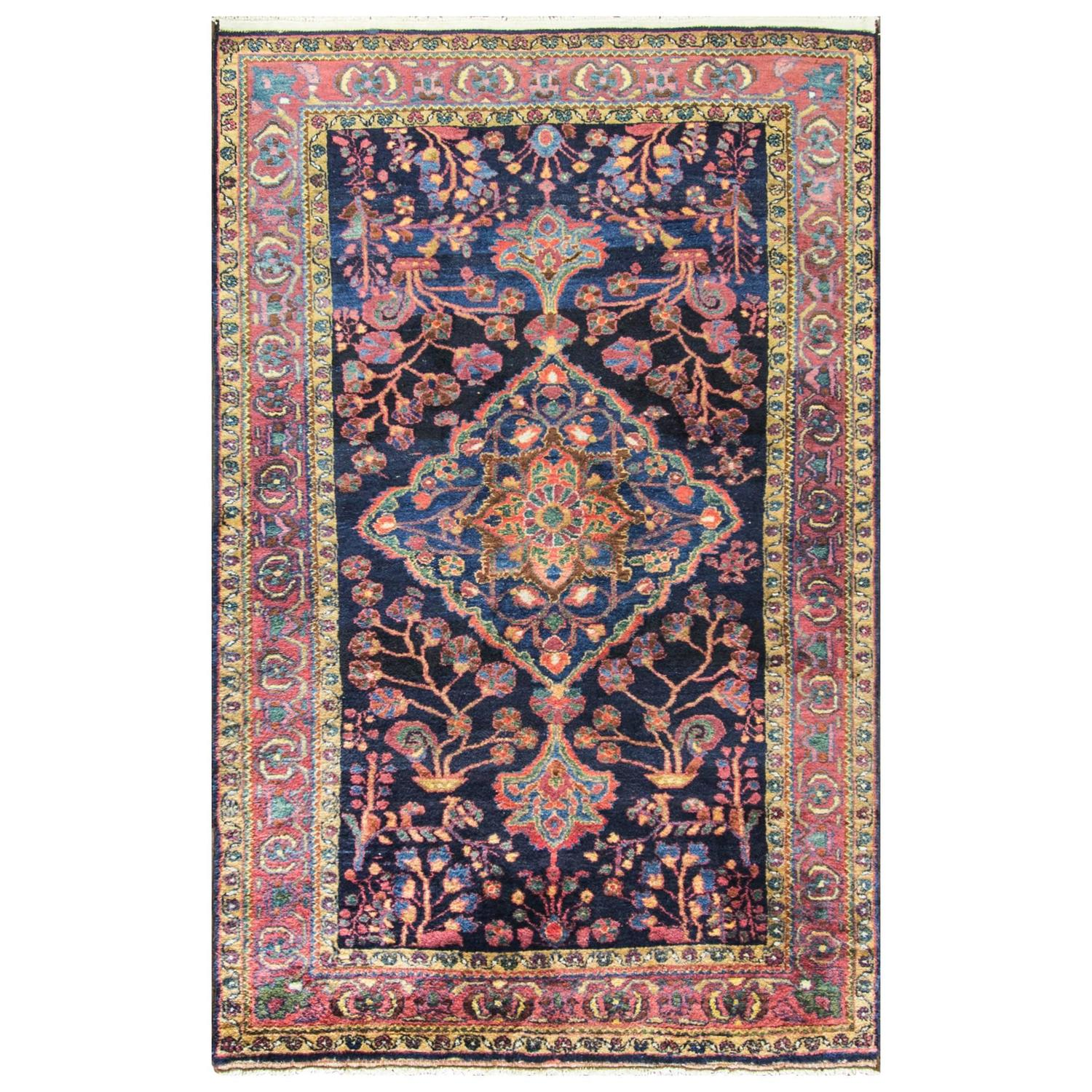 Super Attractive Bakhtiari Carpet At 1stdibs