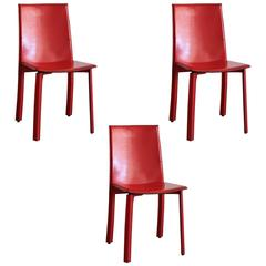 Mario Bellini Style Cab Chairs