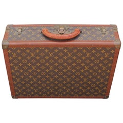 Small Vintage Louis Vuitton Monogram Suitcase Luggage