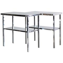 Aluminum Campaign Tables