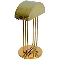 Bauhaus Desk Lamp Signed Marcel Breuer Exposition, Paris, 1925