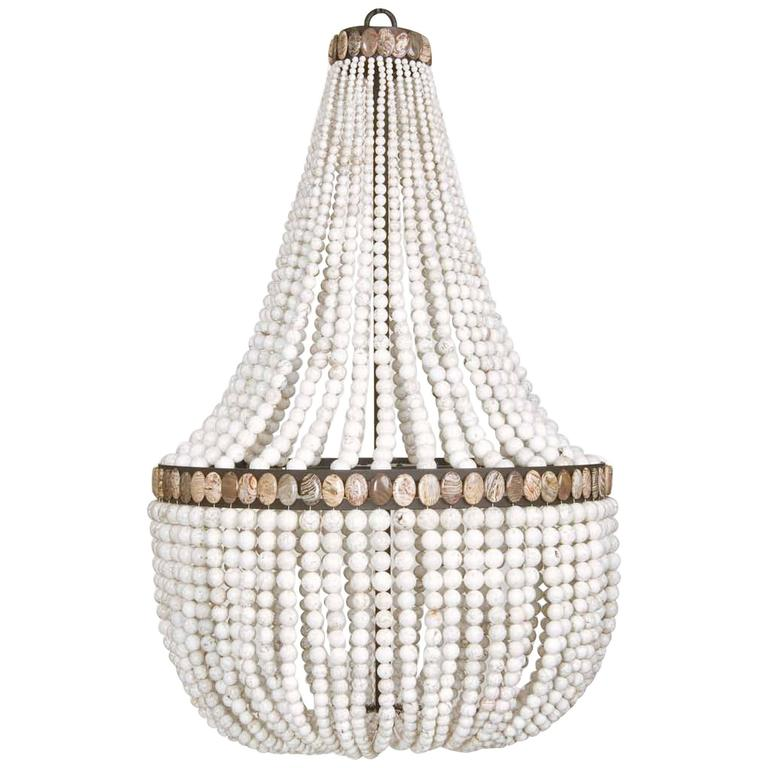 White turquoise empire chandelier by marjorie skouras at 1stdibs white turquoise empire chandelier by marjorie skouras 1 aloadofball Gallery