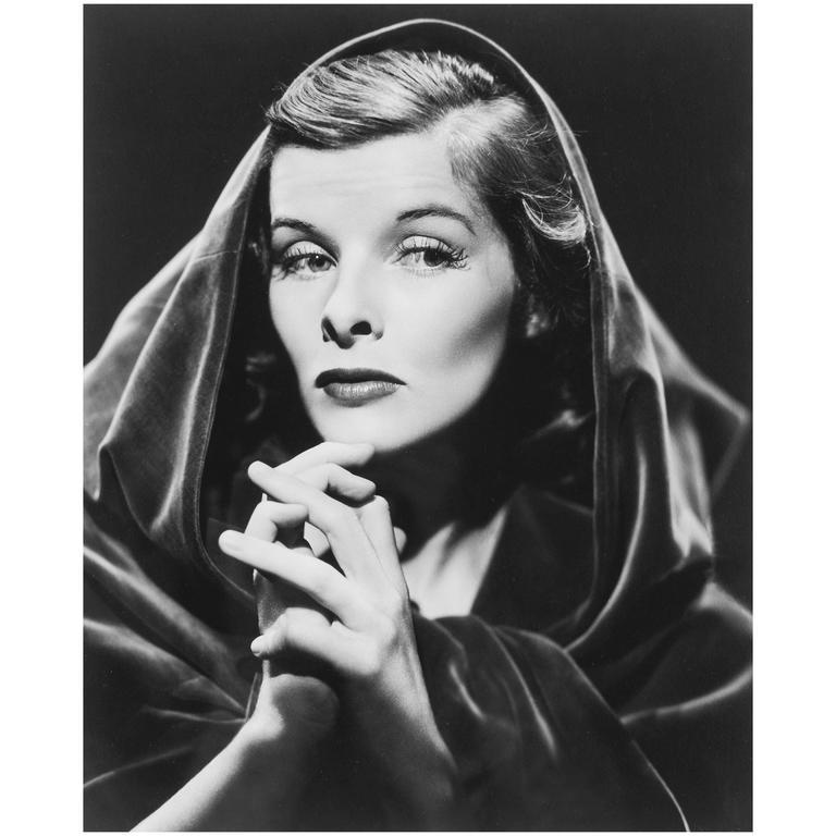 """Katharine Hepburn,"" Photograph by Ernest Bachrach"