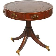 Small Georgian Drum Table