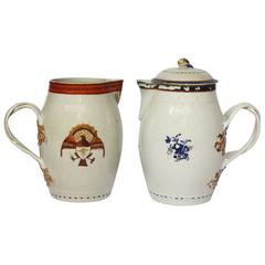 Chinese Export Jugs, One for the American Market