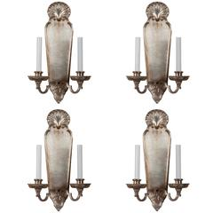 Set of Four E.F Caldwell Wall Sconces