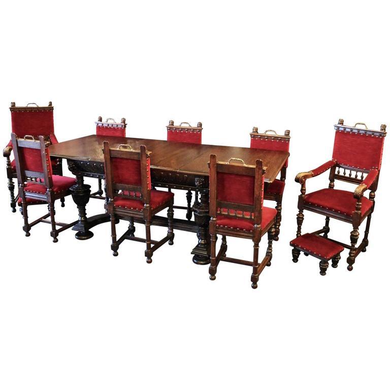 Renaissance Style Dining Set