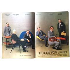 July 1961 Playboy Featuring Eames, Saarinen, Bertoia, Risom, Wormley, et. al.