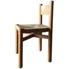 Charlotte Perriand Chair for Méribel, circa 1950