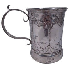Antique South American Extra-Large Silver Mug