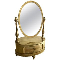 Beautiful French, First Empire Gilt Bronze Mirror, circa 1810-1820