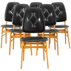 Set of Six Chairs Designed by Sorheim for Nestum Mobler, Norway