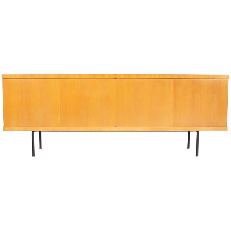 "Elegant 1950s ""Monaco"" Sideboard by Gerard Guermonprez for Magnani, Paris"