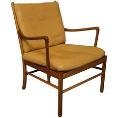"""""""Colonial"""" Chair, Model PJ149 in mahogany by Ole Wanscher and P. Jeppesen, 1960s"""