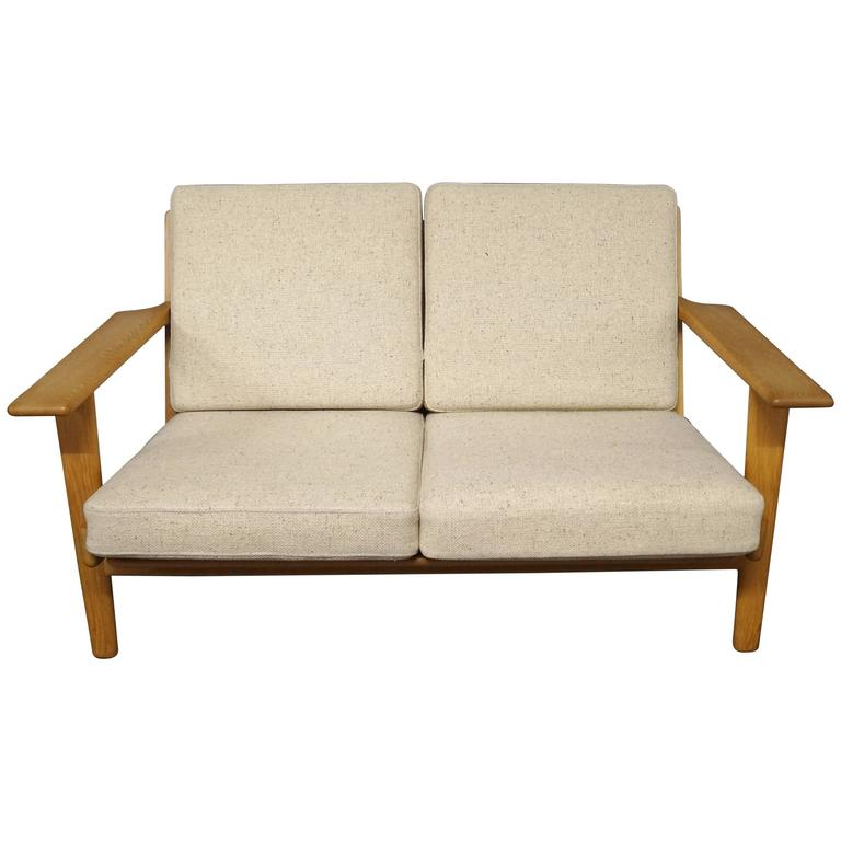 Ge 290 Two Person Sofa Designed By Hans J Wegner 1960s For
