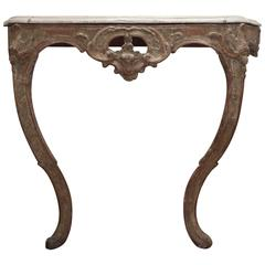 18th Century Swedish Console Table