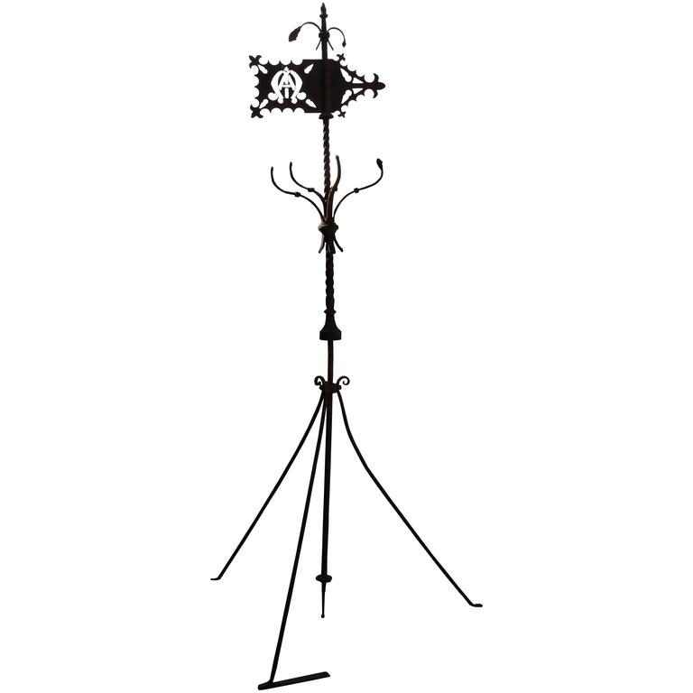 Early 19th Century Wrought Iron Weather Vane For Sale