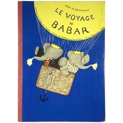 """""""Le Voyage De Babar – Jean De Brunhoff"""" Book"""
