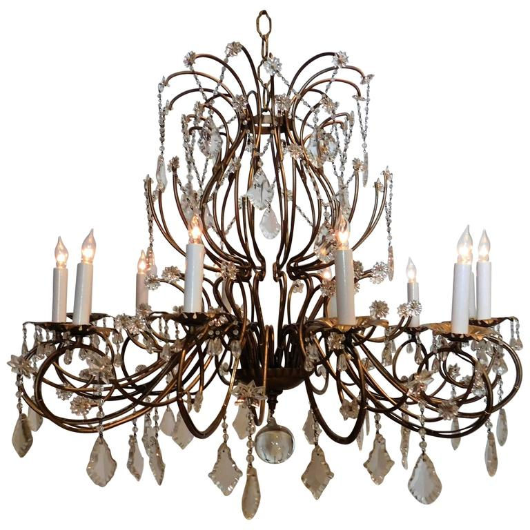 Venetian style chandelier for sale at 1stdibs venetian style chandelier for sale aloadofball Image collections