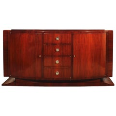 1930´s Art Deco Sideboard, mahogany, bronze - France