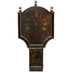 Act of Parliament Clock Case / George II Japanned by Thomas Hackney