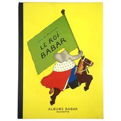 """""""Le Roi Babar - Jean de Brunhoff"""" Book - 1939"""