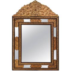 19th Century Large Mirror in the Style of Louis XIII, France, circa 1850