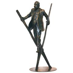 Pinnacle, a Bronze Sculpture by Jim Rennert