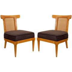 Pair of Tomlinson Slipper Chairs