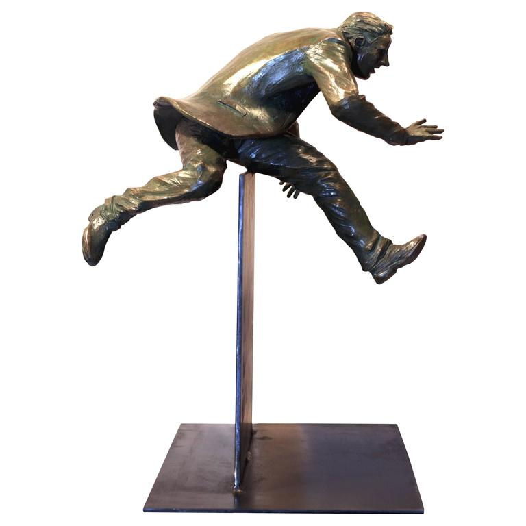 Plan B - A Bronze Sculpture by Jim Rennert