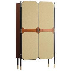 Italian Coat Rack Cabinet