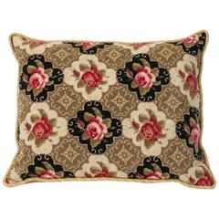 French Needlepoint Pillow