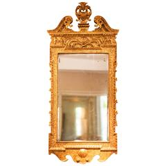 Fine George II Giltwood and Gesso Mirror, Mid-18th Century