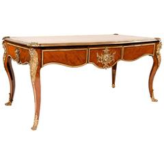 Exquisite 19th Century Kingwood Bureau Plat