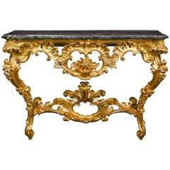 Louis XV Period Console Table