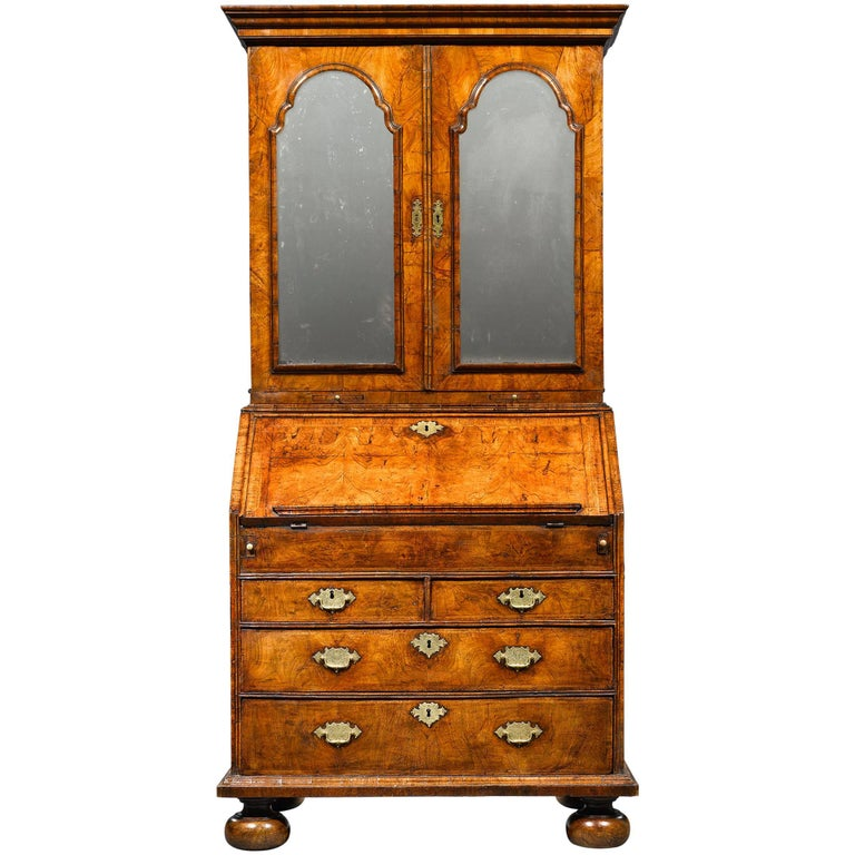 18th Century English Secretary  For Sale