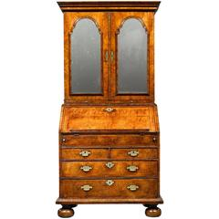Queen Anne Walnut Secretary