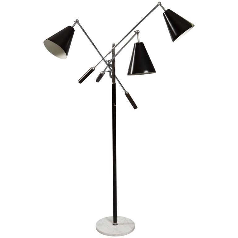 Triennale Floor Lamp, after a model by Arredoluce, circa 1967 1