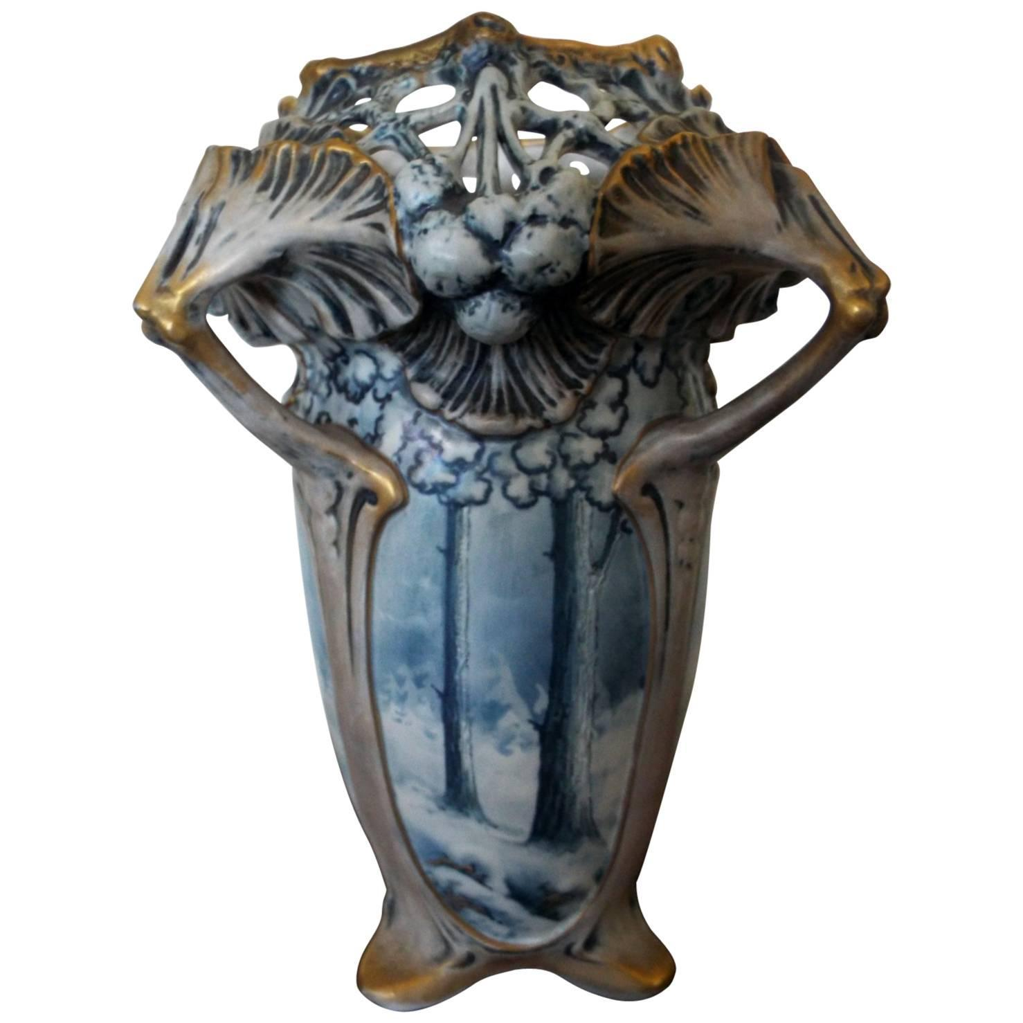 Amphora winter snow art nouveau vase by ernst wahliss for sale at amphora winter snow art nouveau vase by ernst wahliss for sale at 1stdibs reviewsmspy