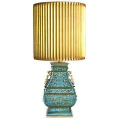 Mid-Century Ceramic Table Lamp