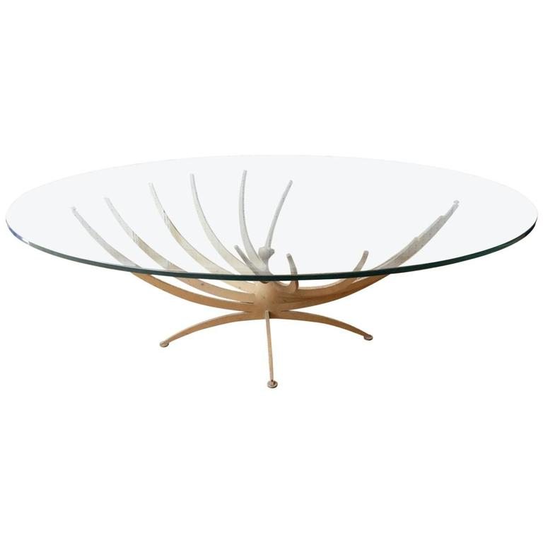 "Serge Mouille 1962 ""Vrillée"" Coffee Table"