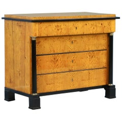 Antique Swedish Biedermeier Chest of Drawers, circa 1830