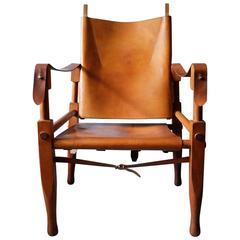 Safari Chair Designed by Wilhelm Kienzle for Wohnbedarf, 1950s