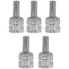 Set of Five Doria Pendants